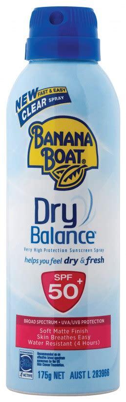 banana boat dry balance banana boat dry balance clear spray banana boat australia