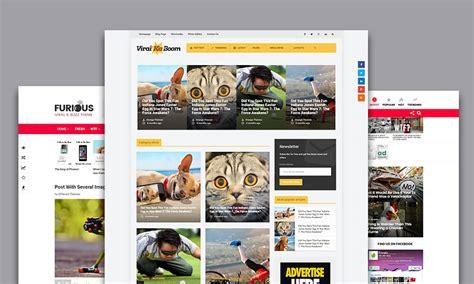 theme buzz blog viral wordpress themes for social buzz feed viral blogs