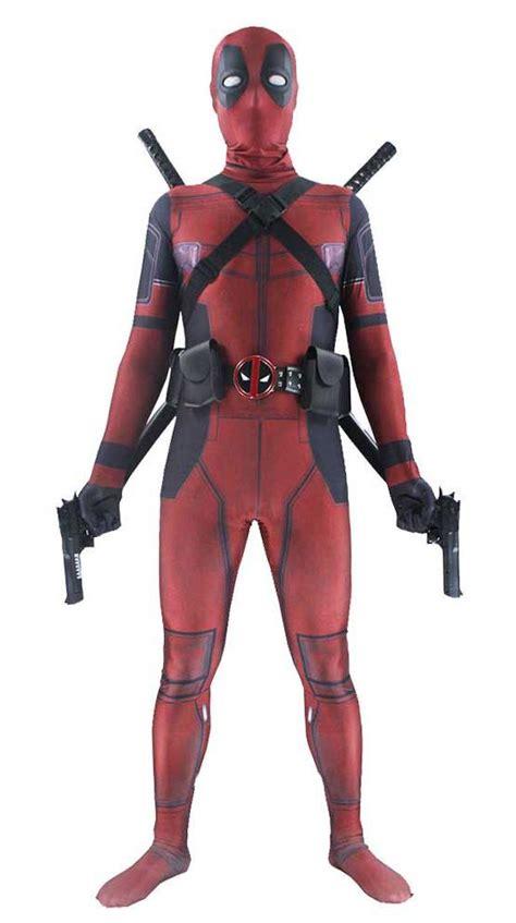 Kaos Umakuka Print Premium Deadpools Suits Premium Deadpool Costume Elite Deals Outlet