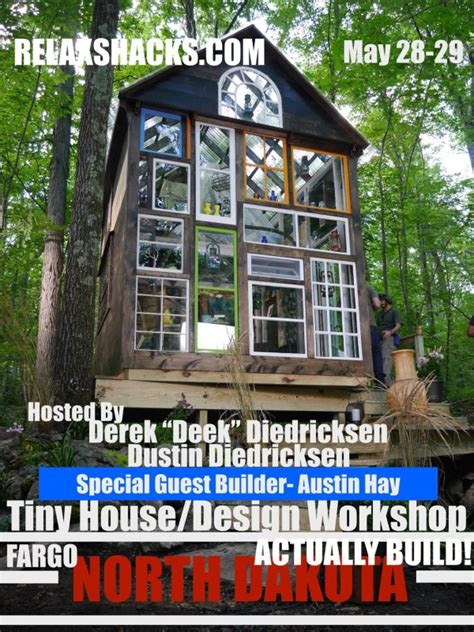 north dakota house 8x12 tiny house design contest and book giveaway