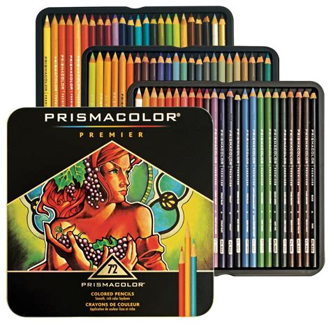 72 colored pencils prismacolor premier colored pencils 72 color set