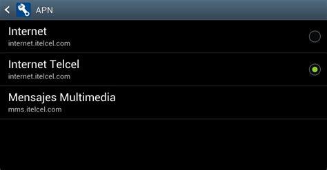 tutorial internet gratis telcel android tutorial como configurar apn de telcel sleep android