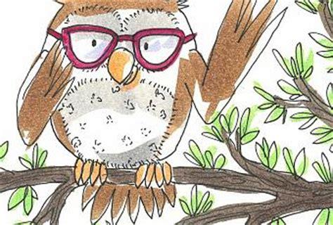 libro el buho que no el b 250 ho con gafas paperblog