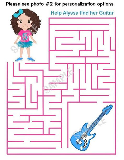 printable barbie maze 126 best images about barbie princess popstar party on