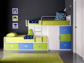 Bunk Beds In A Small Room Room Room With Two Level Bed Stock Photo Image 39903097 With Room For Two