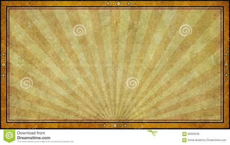 retro aged paper background frame  widescreen format