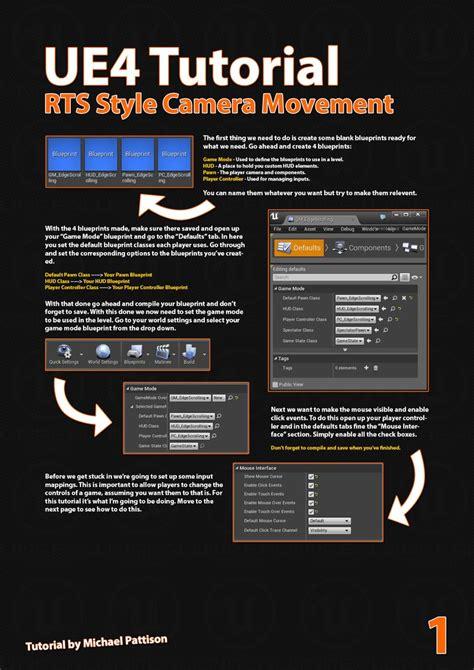 tutorial c ue4 voxagon ue4 tutorial rts style camera movement with