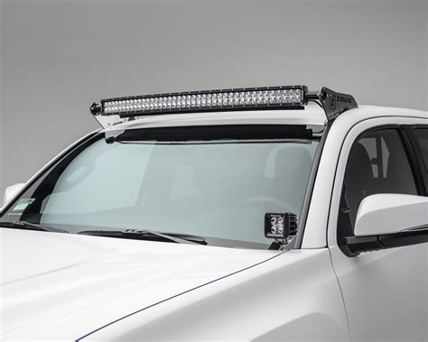 Zroadz 2005 2017 Toyota Tacoma 40 Led Roof Mount Kit With Led Light Bar Roof Mounts