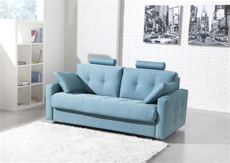 canape avec tetiere acheter votre canap 233 contemporain tissu bleu avec t 234 ti 232 re