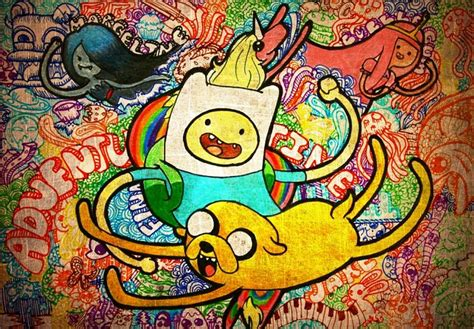 hand drawn wallpaper adventure time wallpaper beautiful hand drawn wallpaper