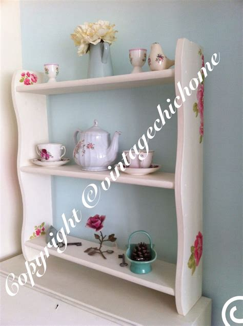 decoupage shelves 17 best images about vintage chic home wall units on