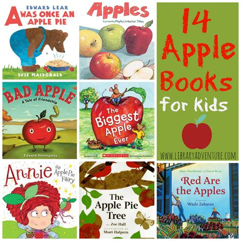 apple picture book 14 apple books for