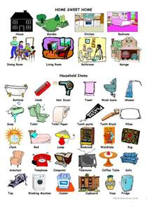 household items house and household items worksheet free esl printable worksheets made by teachers
