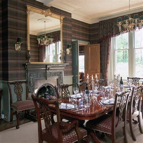 Dining Room Name Ideas Dining Room Wall Paper Scottish Family Tartans By Name