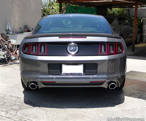 mustang gt roush exhaust 2013 ford mustang gt with roush performance exhaust system