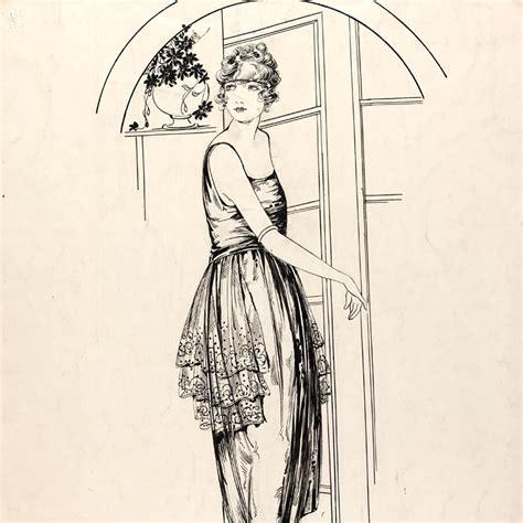 fashion drawing  illustration    century