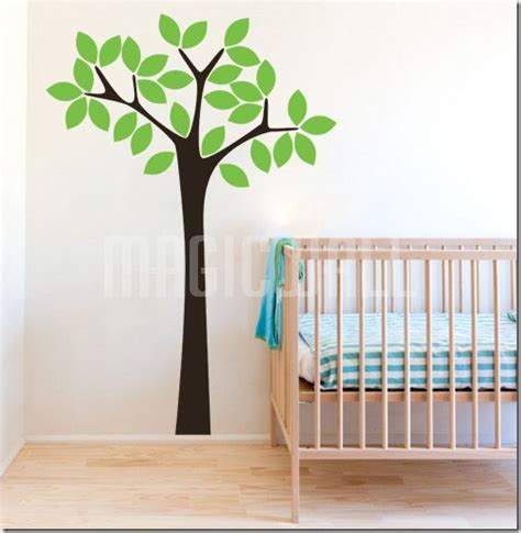 Tree Nursery Wall Decals Wall Decals Simple Tree Nursery Wall Stickers