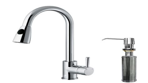 Faucet Size by Kitchen Faucets With Soap Dispenser Single Kitchen