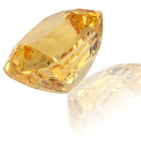 Is This Really A Gold Topaz by Golden Topaz Cushion 6 42ct King Gems