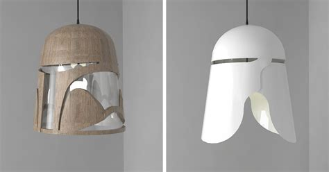 I Created Light Fixtures Inspired By Star Wars Bored Panda Wars Light Fixture