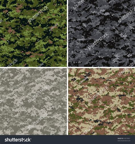 universal pattern en français digital camouflage seamless patterns forest urban stock