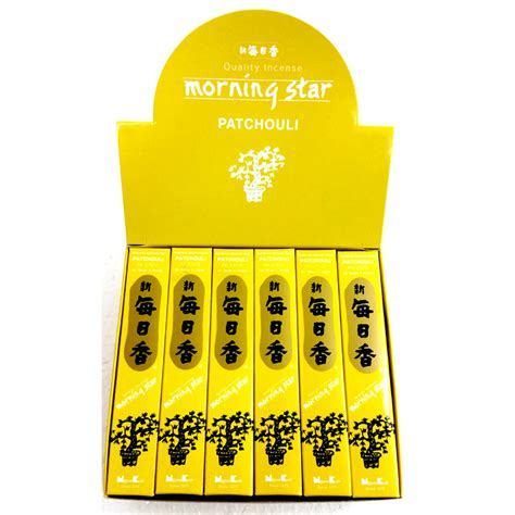 Morning Patchouli 50 Sticks morning patchouli 50 stick box of 12 packets