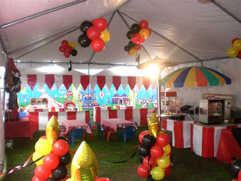 themes in carnival circus decorations carnival games and party rentals