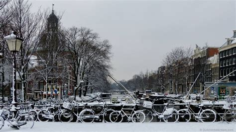 Amsterdam in the snow   DutchAmsterdam.com