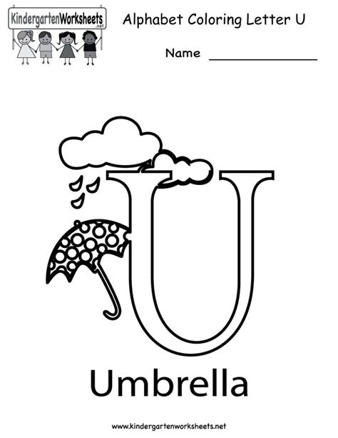 Letter U Worksheets For Pre K by 17 Best Images About Pre K Quot U Quot On Crafts