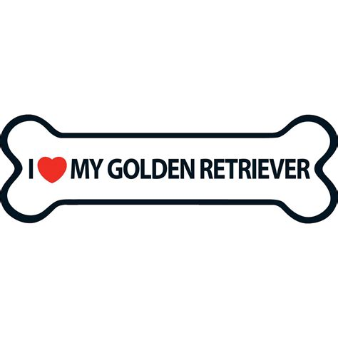 my golden retriever i my golden retriever magnet 163 2 99 garden4less uk shop