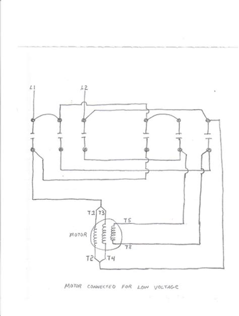 reversing contactor wiring diagram for reversing