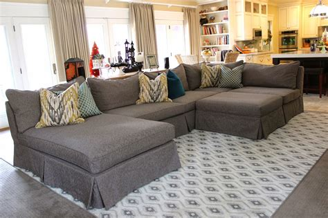 inspiring custom slipcovers for grey sectional