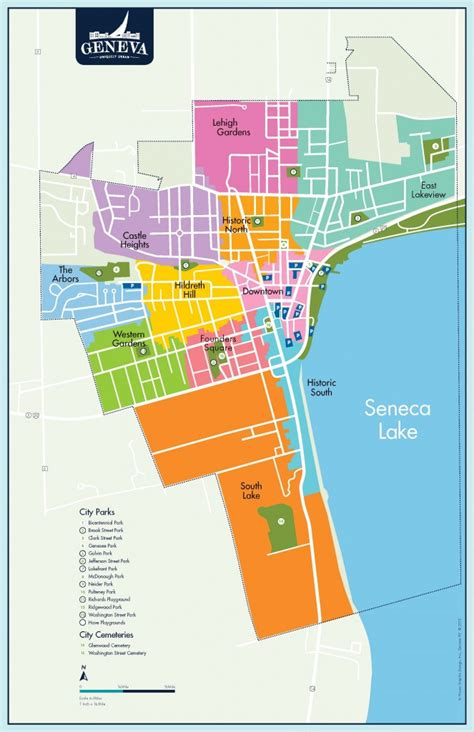 map of neighborhoods 2 neighborhoods of geneva