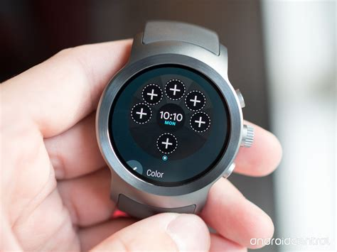 lg android wear how to add complications to your on android wear 2 0 android central