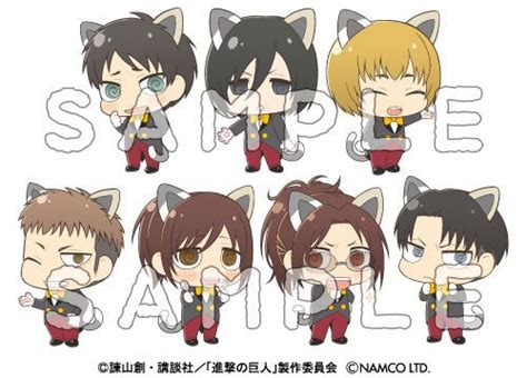 Ordinal Attack 04 attack on titan characters don cat ears for namjatown