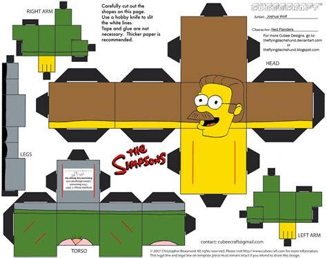 Simpsons Papercraft - 500 server error