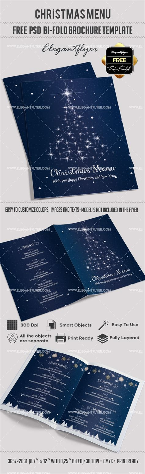 bi fold menu template free menu bi fold psd brochure template by elegantflyer
