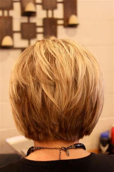 layered bob hairstyle back view 30 popular stacked a line bob hairstyles for women