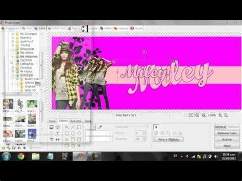 como hacer una portada para facebook en photoscape youtube como hacer una foto dee portada para facebook en