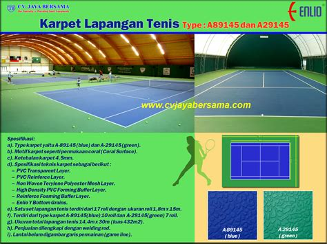 Karpet Volly tenis distributor olahraga