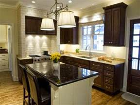 Kitchen Dark Cabinets Wall Paint Ideas For Kitchen