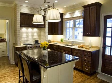 color schemes for kitchens with dark cabinets wall paint ideas for kitchen