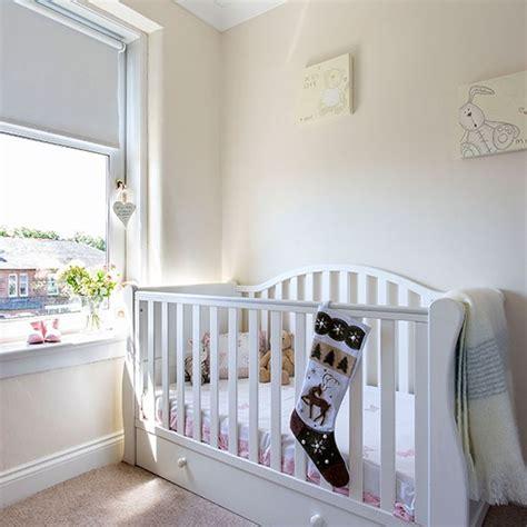 Nursery Decoration Uk Traditional White Nursery Room Decorating Housetohome Co Uk