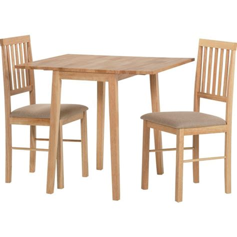 small drop leaf table with 2 chairs buy home kendall drop leaf ext dining table 2 chairs