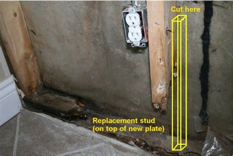 how to fix water in basement how to repair water damage on a basement wall fix it yourself basement wall repair