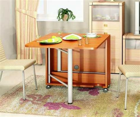 Foldable Dining Table Designs 30 Space Saving Folding Table Design Ideas For Functional Small Rooms