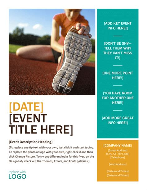 free event flyer templates word 7 free flyer templates for non profit organizations 4over4