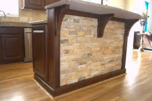 Stone Kitchen Island Transitional Kitchen Cincinnati Lou Vaughn Remodeling