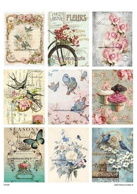 Decoupage Prints Free - 25 best ideas about decoupage vintage on