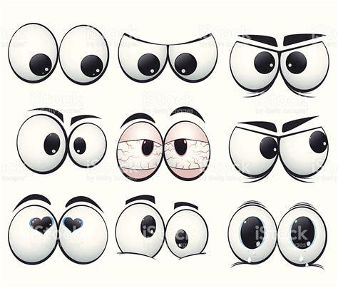 los ojos o 237 dos nariz boca collection arte vectorial de dibujos animados de los ojos con diferente expresi 243 n de